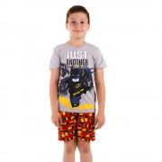 Lego Batman Just Another Day at Work szürke fiú pizsama