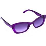 Cruzaar Cat-eye Sunglasses(Violet)