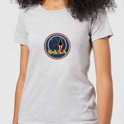 NASA JM Patch Dames T-shirt - Grijs - M - Grijs