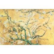 Wanddecoratie Vince 80 x 120 cm geel