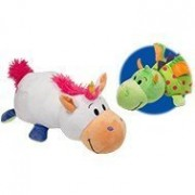 """FleepZees The 5"""" Baby FlipaZoo with 2 Sides of Fun for Everyone - Each Huggable FlipaZoo character is Two Wonderful Collectibles in One (Unicorn / Dragon)"""
