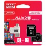 Card de memorie GOODRAM Micro SDHC Class 10 32 GB UHS-I + Adaptor SD si Card Reader Micro-USB