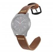 Correa de reloj de cuero para Samsung Gear S3 22 mm / Galaxy 46 mm