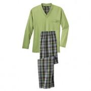 Jado Lieblings-Pyjama Kurz No. 23 oder Lang No. 5, 46 - Grün/Multicolor - Lang No. 5