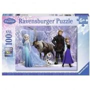 Puzzle Ravensburger XXL - Disney Frozen, 100 piese