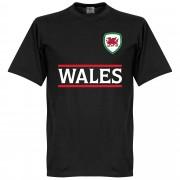 Retake Wales Team T-Shirt - Zwart