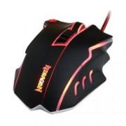 Мишка Redragon TitanoBoa 2 M802-2-BK, оптична (24000dpi), геймърска, 10 бутона, USB, черна