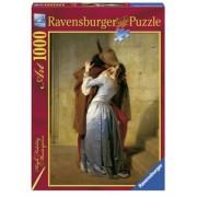 Puzzle Hayez: Sarutul, 1000 Piese Ravensburger
