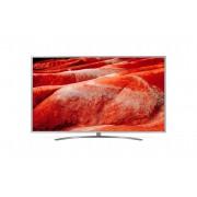 Televizor LED LG 75UM7600PLB, 189 cm, 4K UHD, Smart TV, Wi-Fi, Bluetooth, CI+, AI Smart, Procesor Quad Core, Clasa energetica A, Argintiu/Negru
