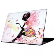 Butterfly Girl Patterns Apple Laptop PC Protective Case for Macbook Pro 13.3 inch