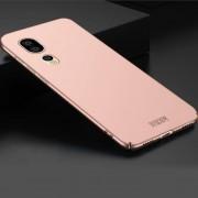 MOFI Para Huawei P20 Pro Frosted PC Ultra Delgado Borde Totalmente Envuelto Volver Funda Protectora (rosa De Oro)