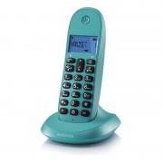 Motorola C1001L Telefone Sem Fios Turquesa