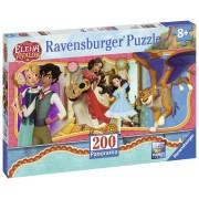 PUZZLE VIATA ELENEI DIN AVALOR, 200 PIESE - RAVENSBURGER (RVSPC12689)