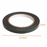 Generic 5M Strong Waterproof Adhesive Double Sided Foam Tape Car Trim Plate Width 9Mm