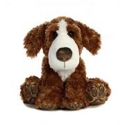 Aurora World Big Paws St. Bernard Plush Dog, Brown, Medium