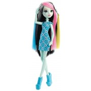 Monster High - Dnx36 - Coiffure Survoltée - Poupée Frankie Stein