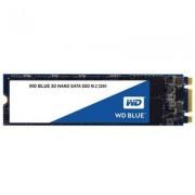 Диск ssd wd blue 3d nand 500gb m.2 2280 (80 x 22mm) sata iii, read-write: up to 560mbs, 530mbs (3 years warranty), wds500g2b0b