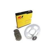 Kit Relação Transmissão - X-Motos R1 - Honda Pop 100