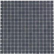 Mozaiektegel Amsterdam Steel Grey Soft Grain Glass 322x322