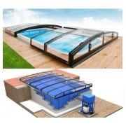 Infinity Pool-Komplettset mit Überdachung Infinity Uno+