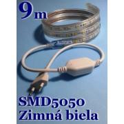 Ledstar kompletná sada 220V 9m SMD5050 60LEDm 14,8Wm Zimná biela IP67