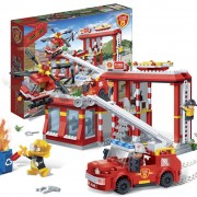 BanBao Fire Station Garage 7102