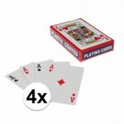 Geen Speelkaarten setjes 4 stuks