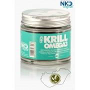 Krill olaj - NKO KRILL-Omega3 (60db) 100% tisztaságú krill olaj Astaxanthin tartalommal
