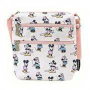 Loungefly Disney by Loungefly Passport Bag Pastel Minnie Mickey AOP