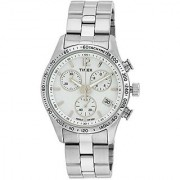 Timex Quartz White Dial Women Watch-T2P059