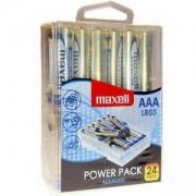 Алкални батерии MAXELL LR03 1.5V, AAA, 24 броя блистер, ML-BA-LR03-24PK