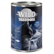 6x400g Wild Freedom Adult Wide Country frango puro