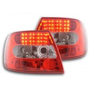 FK-Automotive fanale posteriore a LED per Audi A4 berlina (tipo B5) anno di costr. 95-00, chiaro/rosso