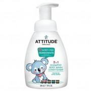 Attitude 3 w 1 dla dzieci płyn do mycia szampon odżywka Gruszkowy Nektar (Pear Nectar) 300 ml- Attitude