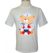 Camiseta Ursinho Marinheiro - Coleção Animais