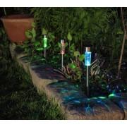 4 db kerti napelemes LED Atusz világítás 31 cm
