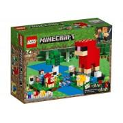 Lego Конструктор Lego Minecraft Шерстяная ферма 21153