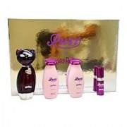 Katy Perry Purr Women Giftset (Eau De Parfum Spray Shimmering Body Lotion Shower Gel Eau De Parfum Spray)