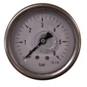 Italtecnica Nyomásmérõ óra (Feszmérõ óra) F35-3 0-10Bar Fekvõ kivitel