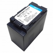 """7.4V """"6600mAh"""" CGR-D54s Bateria para Panasonic - Negro"""