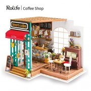 Rolife Wooden Mini House Crafts-DIY Model Kits with Furniture and Accessories- Handmade Construction Kit-Wooden Playset-Best Birthday Mothers Day for Boys Girls