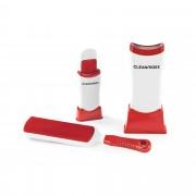 Cleanmaxx Set 2 spazzole antistatiche per tessuti con contenitore