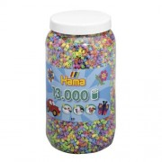 Hama Strijkkralen Hama Ton Met 13000 Stuks Pastel