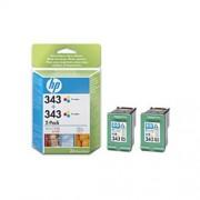 Kazeta HP HPCB332EE TRI-COLOR No. 343 dvojité balení C8766EE