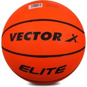 Basketball Vector X BB-ELITE-ORNG-7 Size 7 (Pack of 1)