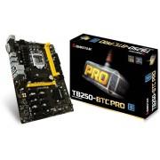 Matična ploča MB LGA1151 B250 Biostar TB250-BTC PRO, PCI-e/DDR4/SATA3/GLAN/7.1