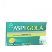 Gola Aspi Gola 8,75mg 24pastiglie Gusto Miele Limone