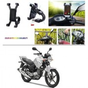 AutoStark Motorcycle Mount Cell Phone Holder/Installed to Motorcycle Rearview mirror Phone Mount For Yamaha YBR 125