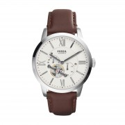 Часовник FOSSIL - Townsman ME3064 Dark Brown/Silver/Steel