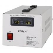 Stabilizator tensiune Kemot, protectie scurcircuit, servomotor, 1000 VA